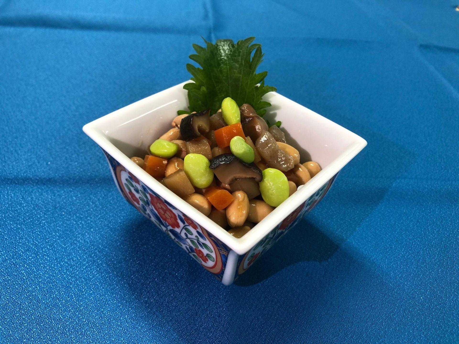 小鉢 五目煮豆